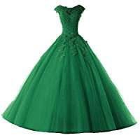 DIY Halloween Costume Idea - Green Ball Gown
