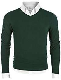 DIY Halloween Costume Idea - Green Knit Pullover