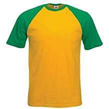 DIY Halloween Costume Idea - Green & Yellow Baseball Shirt
