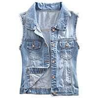DIY Halloween Costume Idea - Jeans Vest