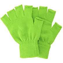 DIY Halloween Costume Idea - Lime Green Gloves