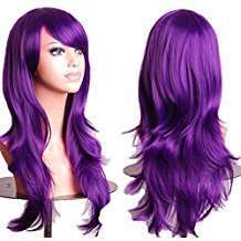 DIY Halloween Costume Idea - Purple Wig