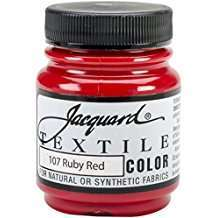Amazon - DIY Halloween Costume Idea - Red Textile Color