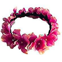 DIY Halloween Costume Idea - Tropical Flower Crown