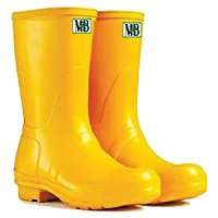 DIY Halloween Costume Idea - Yellow Rubber Boots