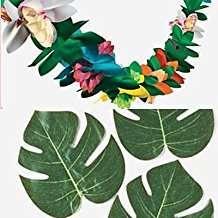 DIY Moana Party Idea - Tissue Flower Garland