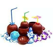 Motto Party Ideas - Coconut Cups