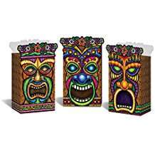 Motto Party Ideas - Tiki Gift Bags