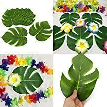 Motto Party Ideas - Tropical Leaves