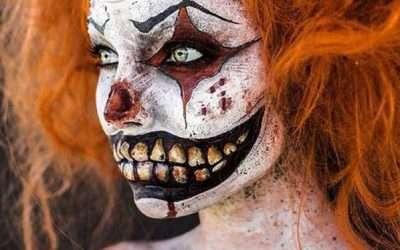 DIY Creepy Clown Costume