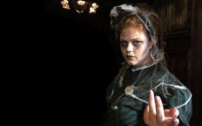 DIY Haunted Mansion Maid Costume