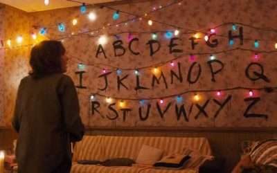 DIY Stranger Things Wall Costume