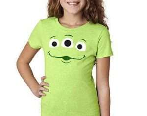DIY Toy Story Alien Halloween Costume Idea - Shirt