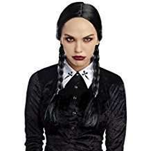 DIY Halloween Costume Idea - Black Braids Wig