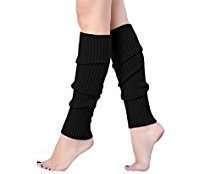 DIY Halloween Costume Idea - Black Leg Warmer