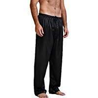 DIY Halloween Costume Idea - Black Pyjama Pants