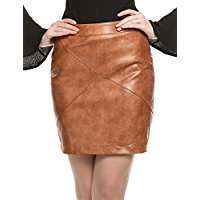 DIY Halloween Costume Idea - Brown Leather Skirt