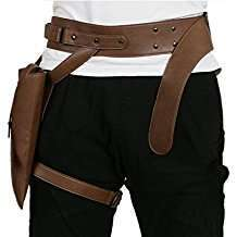 DIY Halloween Costume Idea - Brown Leg Holster