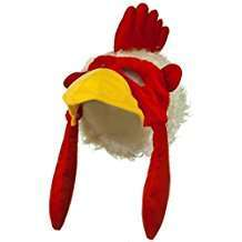 DIY Halloween Costume Idea - Chicken Hat