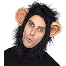 DIY Halloween Costume Idea - Chimp Hood