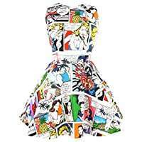 DIY Halloween Costume Idea - Comic Dress