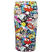 DIY Halloween Costume Idea - Comic Skirt