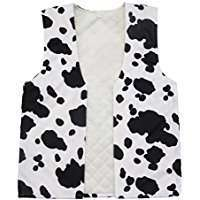DIY Halloween Costume Idea - Cow Vest