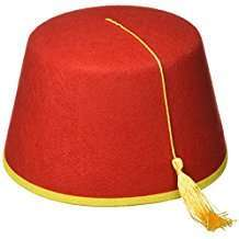 DIY Halloween Costume Idea - Fez
