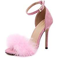 DIY Halloween Costume Idea - Fluffy Pink Pumps