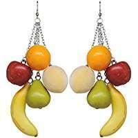 DIY Halloween Costume Idea - Fruit Earrings