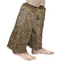 DIY Halloween Costume Idea - Fur Legwarmers