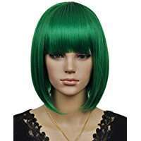 DIY Halloween Costume Idea - Green Bob Wig