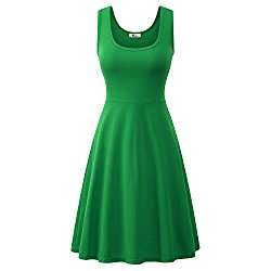 DIY Halloween Costume Idea - Green Skater Dress