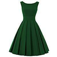 DIY Halloween Costume Idea - Green Vintage Dress