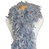 DIY Halloween Costume Idea - Grey Boa