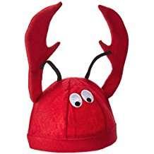 DIY Halloween Costume Idea - Lobster Hat