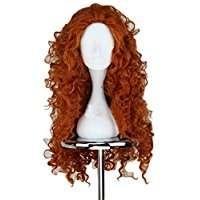 DIY Halloween Costume Idea - Long Curly Red Wig