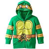 DIY Halloween Costume Idea - Ninja Turtle Hoodie