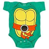 DIY Halloween Costume Idea - Ninja Turtle Onesie