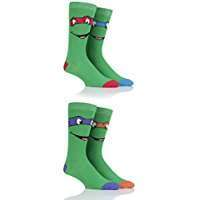 DIY Halloween Costume Idea - Ninja Turtle Socks