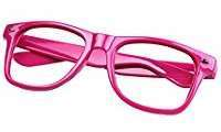 DIY Halloween Costume Idea - Pink Glasses