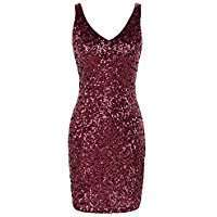 DIY Halloween Costume Idea - Pink Sequin Dress