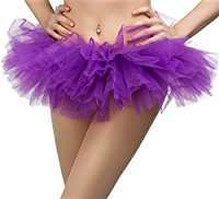 DIY Halloween Costume Idea - Purple Mini Tutu