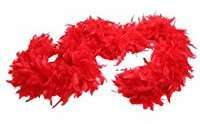 DIY Halloween Costume Idea - Red Boa