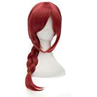 DIY Halloween Costume Idea - Red Braid Wig