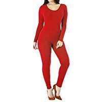DIY Halloween Costume Idea - Red Catsuit