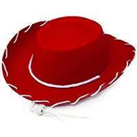 DIY Halloween Costume Idea - Red Cowboy Hat