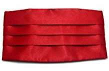 DIY Halloween Costume Idea - Red Cummerbund