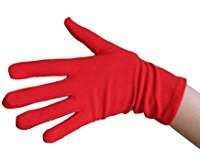 DIY Halloween Costume Idea - Red Gloves