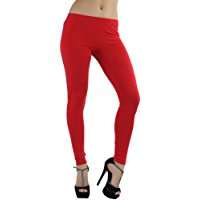 DIY Halloween Costume Idea - Red Leggings
